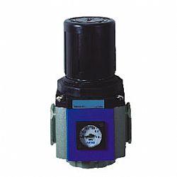 Regulador de ar com manômetro, de 1/8 a 1 polegada