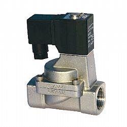 Válvula solenoide p/Fluidos 2/2 de INOX, ação indireta (VFI)