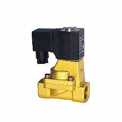 Válvula solenoide p/fluidos de LATÃO 2/2, ação indireta (VFL)